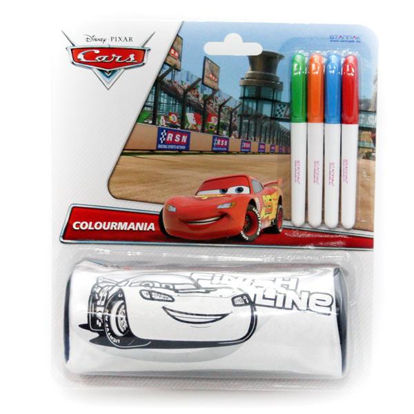 Piórnik do pomalowania  - tuba STK19 Cars Disney