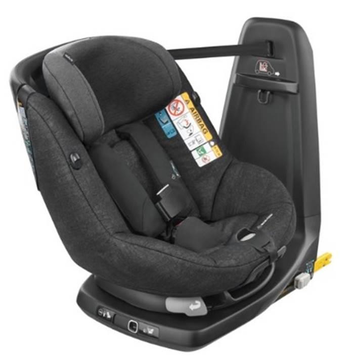AxissFix Air fotelik z poduszkami powietrznymi Maxi Cosi tyłem i przodem 0-18 kg I-Size