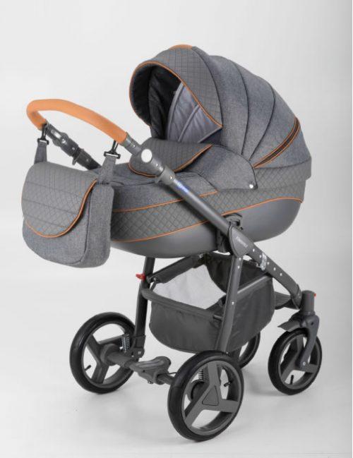 Adamex wózek głeboko spacerowy Neonax