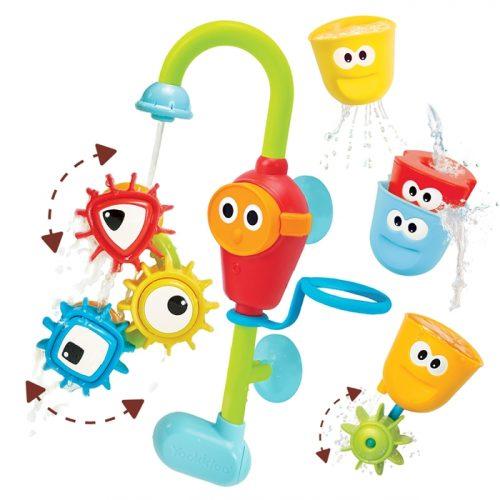Yookidoo Wesoły Kranik i wirujące trybiki zabawki do wanny na baterie HIT dla dzieci