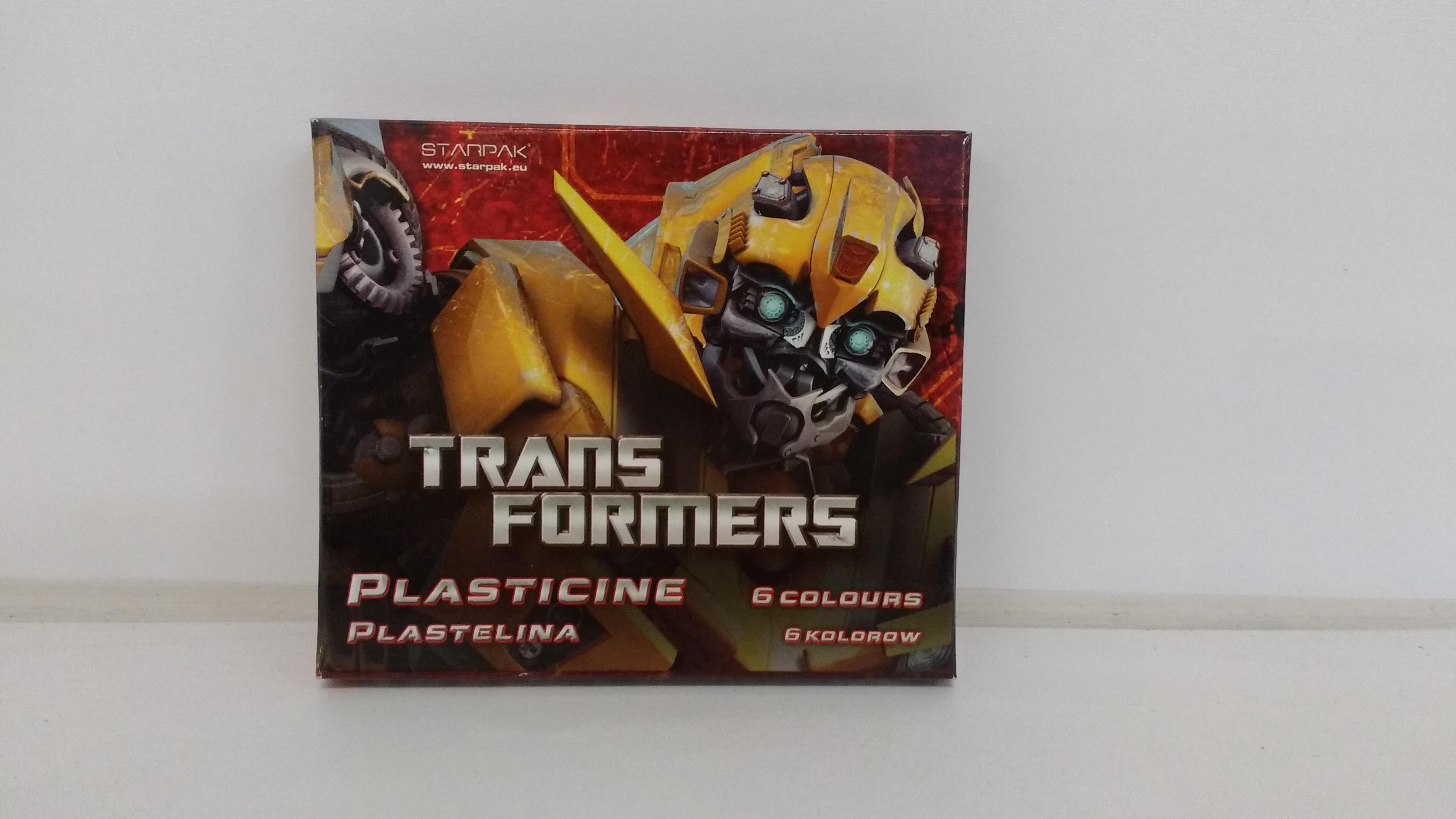Starpak plastelina 6 kol  transformers