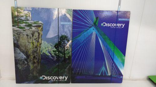 Starpak teczka z gumka a4  discovery