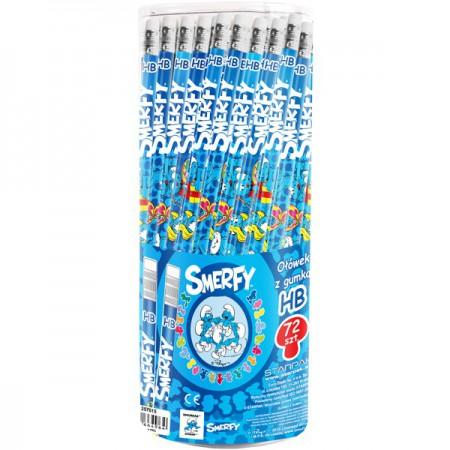 Starpak ołówek z gum stk smerfy tuba