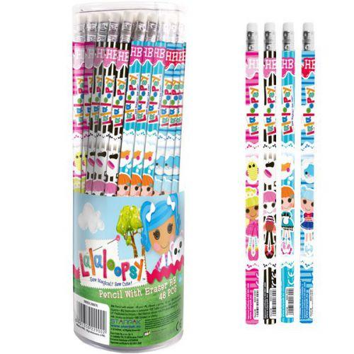 Starpak ołówek z gum stk lalaloops tuba