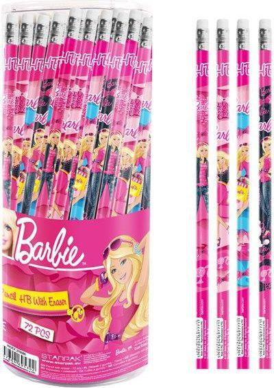 Starpak ołówek z gum  barbie tuba