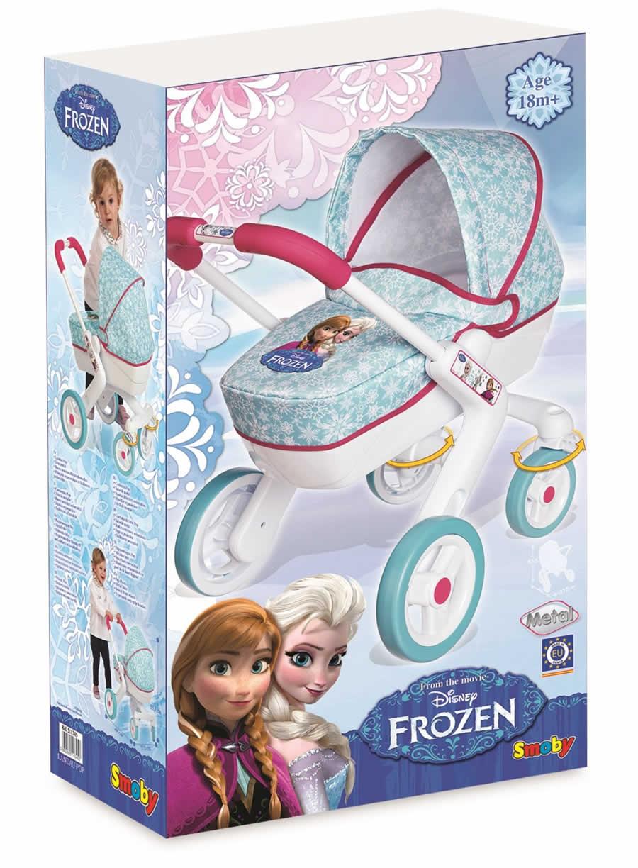 Wózek głęboki dla lalek Frozen Smoby