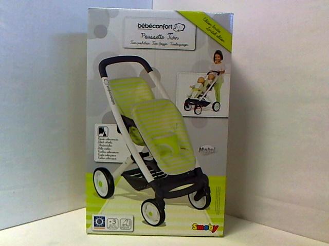 Wózek dla lalek bliźniaczy Maxi Cosi Smoby