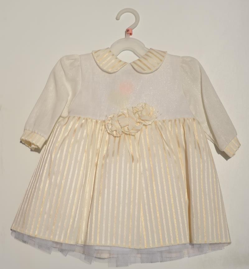 Sukienka dla dziewczynki elegancka - do chrztu Krasnal