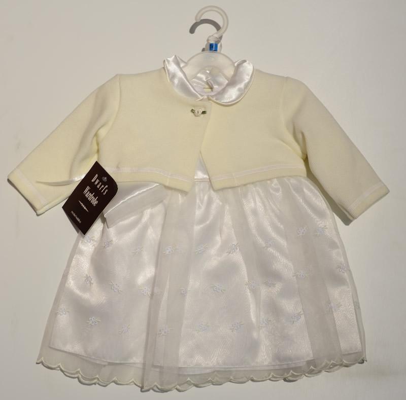 Bolerko + sukienk ado chrztu i na uroczyste okazje Krasnal