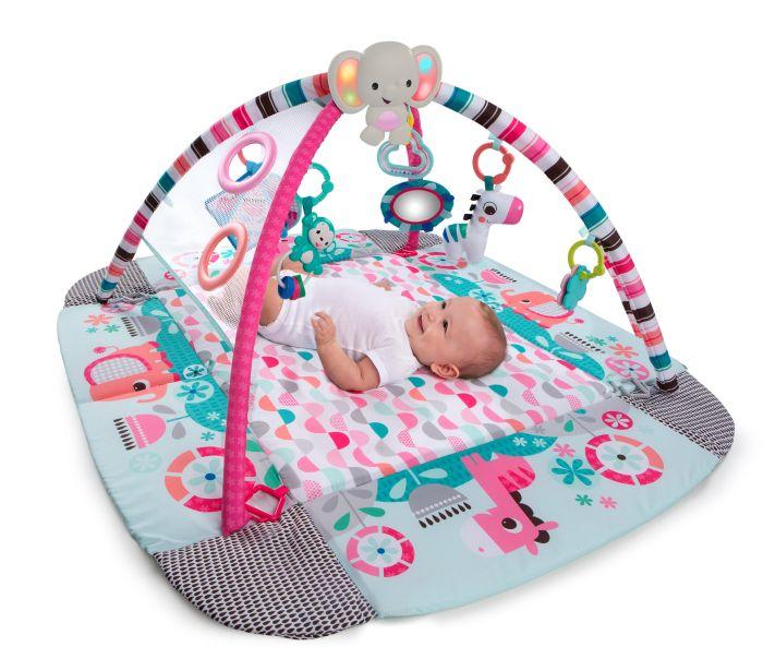 Plac zabaw słonik różowy z piłeczkami Bright Starts