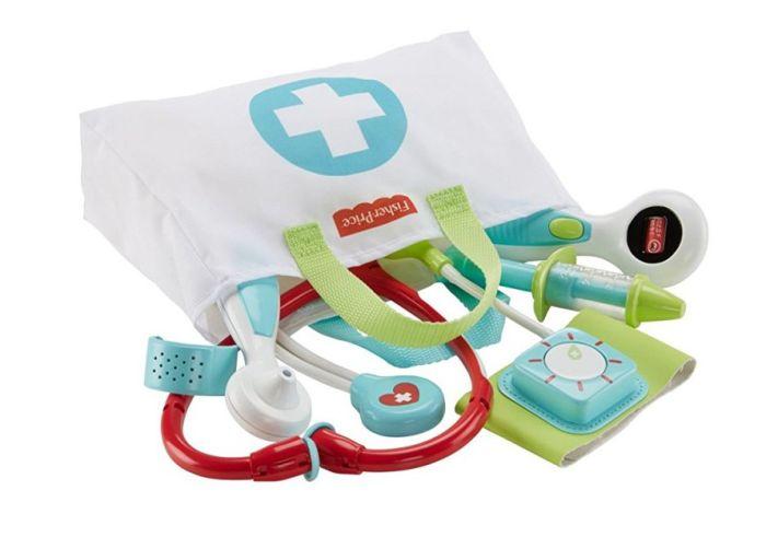 Fisher price zabawka dla najmłodszych mały doktor dvh14