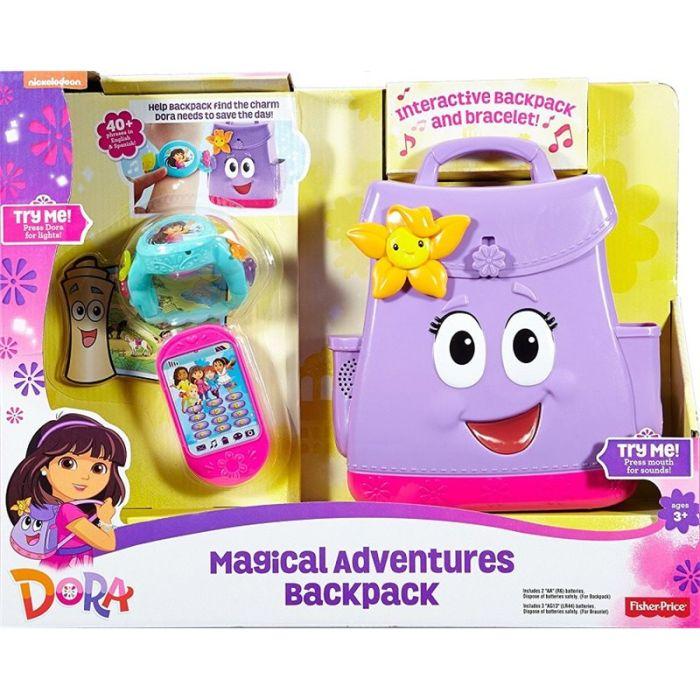 Fisher Price Dora Mówiący plecak i magiczna bransol FNN01