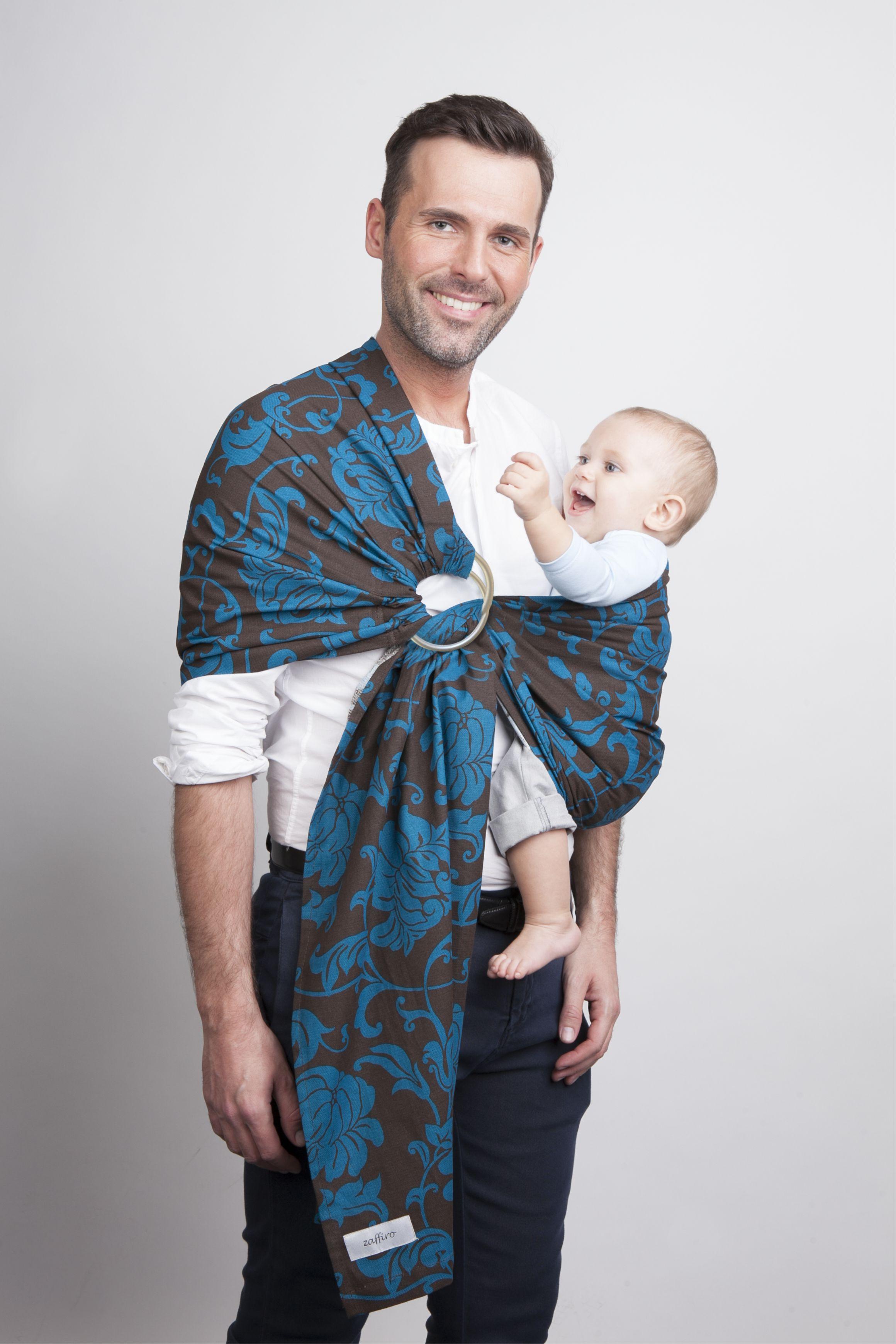 Chusta Zaffiro Womar N16 Hug Me – chustonoszenie chusta dla niemowląt