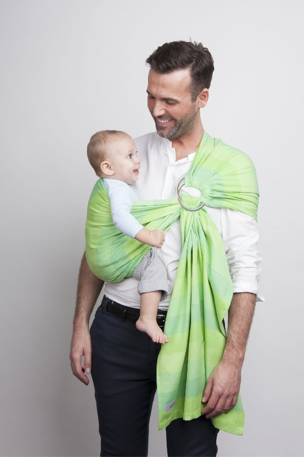Chusta Womar Zaffiro Hug Me Eco N16 chusta do noszenia niemowląt