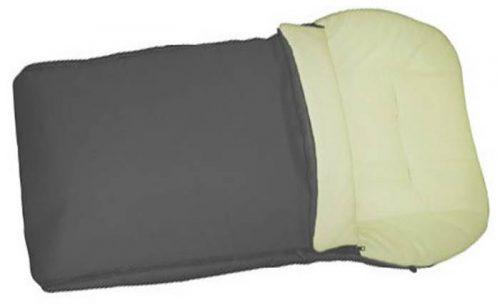 Śpiworek do wózka z polarem w kolorystyce wózków Roan
