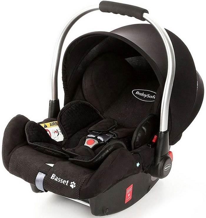 Fotelik samochodowy 0-13 kg Basset BabySafe