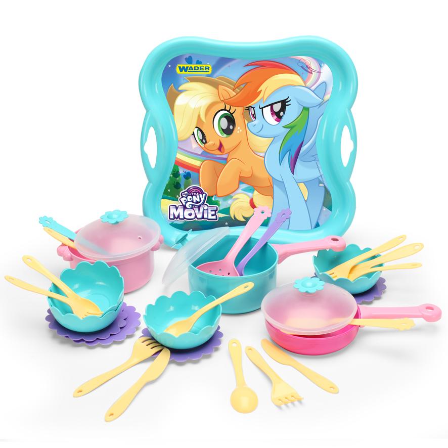 Wader My little pony zestaw obiadowy