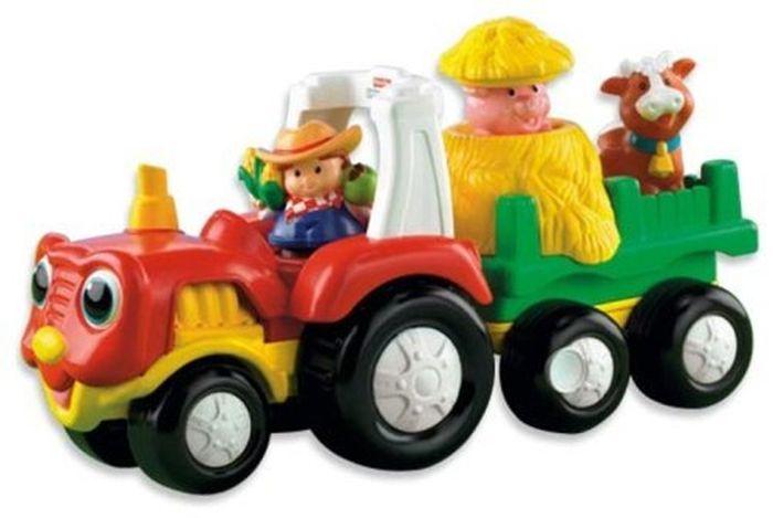 Pojazdy Little People z funkcjami firmy Fisher Price - autobus, samolot, traktor 12m+
