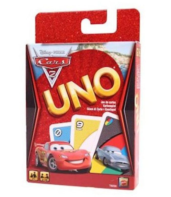 Mattel karty Uno - Cars 2