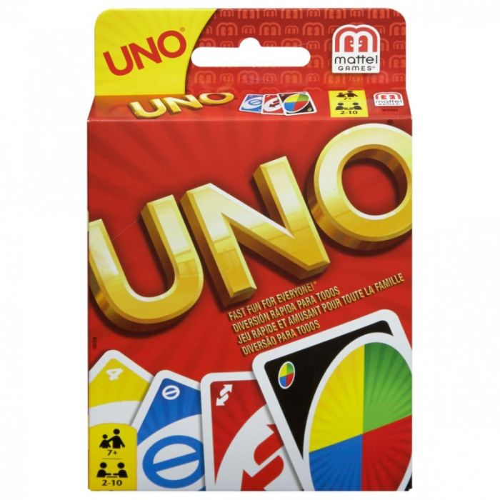 Mattel karty Uno - wersja polska W2085