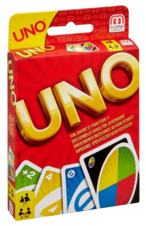 Mattel karty Uno - wersja polska