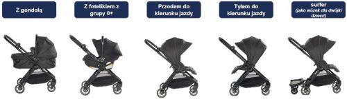 Wózek spacerowy City Tour Lux, Baby Jogger