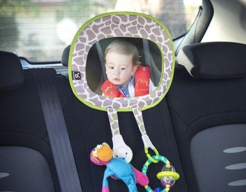 Benbat Lusterko do samochodu G-Collection z uchwytami na zabawki
