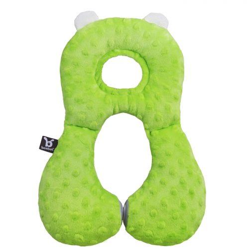Zagłowek poduszka podróżna dla dzieci od 1-4 lat Green Ben Bat