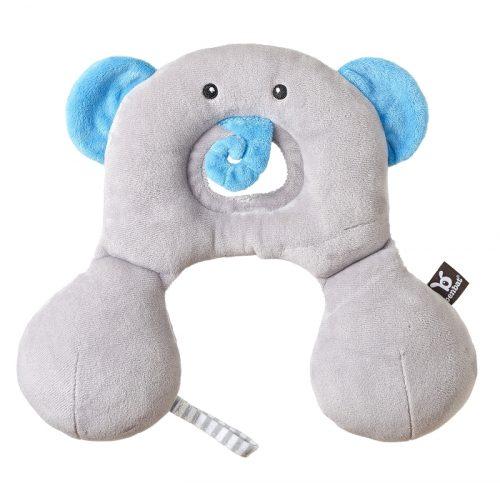 Zagłowek poduszka podróżna dla dzieci od 0-12 miesięcy Słoń Ben Bat