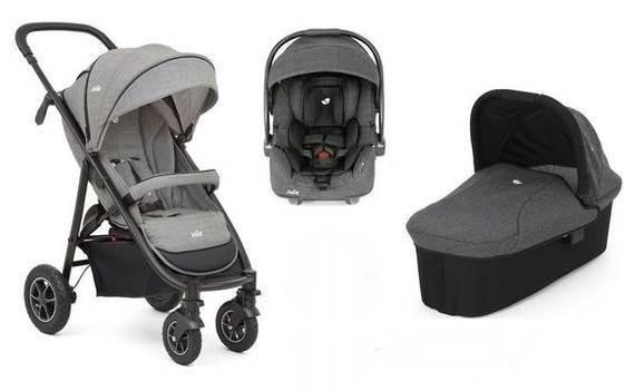Wózek 3w1 Mytrax - gondola, spacerówka i fotelik samochodowy, Joie