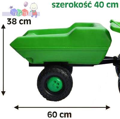 Przyczepa do traktora i quada