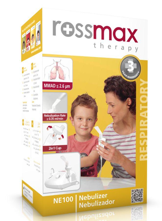 Rossmax Inhalator tłokowy NE100 ze smoczkiem do inhalacji