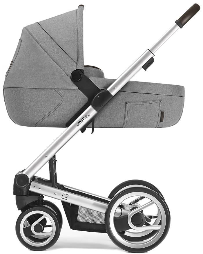 Mutsy I2 Farmer Mist wózek głęboki ze stelażem do wyboru - edycja limitowana