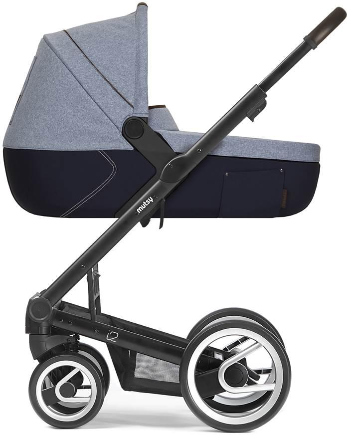 Mutsy I2 Farmer Sky wózek głęboki ze stelażem do wyboru - edycja limitowana