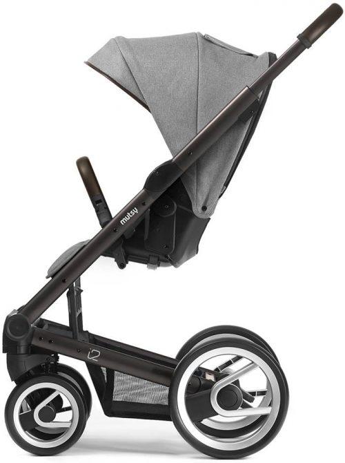 Mutsy I2 Farmer Mist wózek spacerowy ze stelażem do wyboru - edycja limitowana