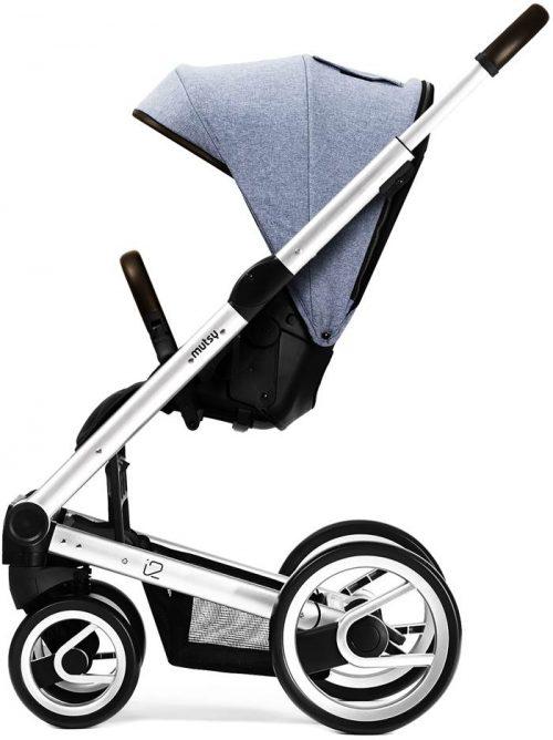 Mutsy I2 Farmer Sky wózek spacerowy ze stelażem do wyboru - edycja limitowana