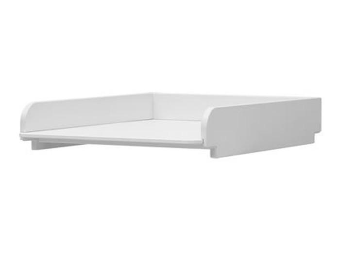 Przewijak Basic MDF na łóżeczka Pinio 140x70 - biały