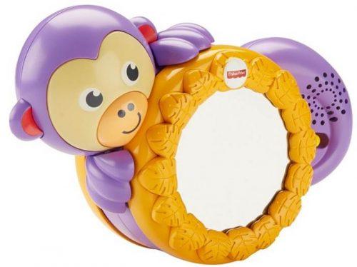 Fisher Price - Małpka do raczkowania z lustereczkiem