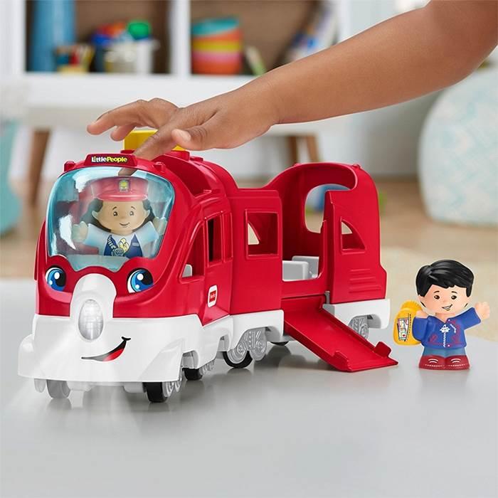 Fisher Price - Pociąg małego odkrywcy. Zabawka edukacyjna w j.polskim