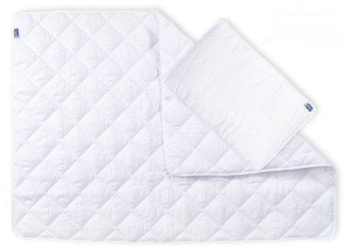 Amy kołderka + poduszka z satyny pikowana, wersja exkluzywna