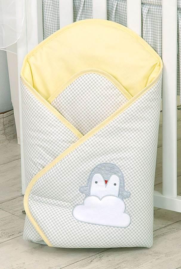 Amy rożek Pingwiny, żółty