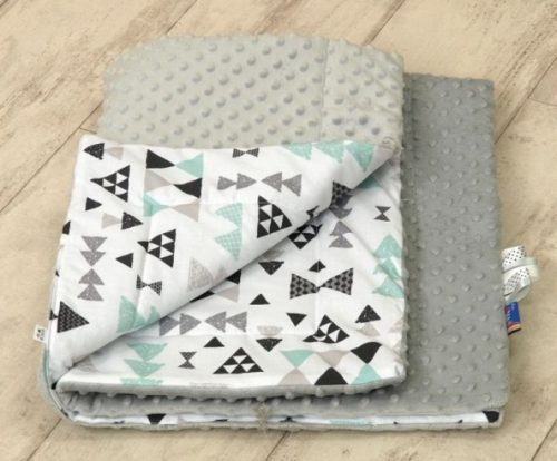 Kocyk Minky Aztec Arrow Mint, Amy