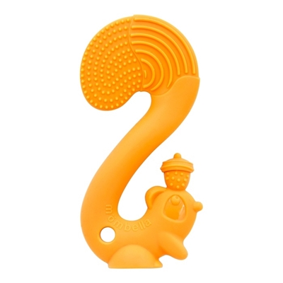 Gryzak - zabawka Squirrel Orange, Mombella