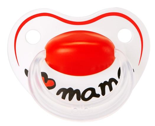 Smoczek ortodontyczny Happy Mama Classic 16m+, Bibi