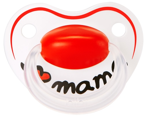 Smoczek nat/s 0+ Mama Classic, Bibi