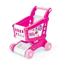 Wózek na zakupy w kartonie Wader Fisher Price Różowy