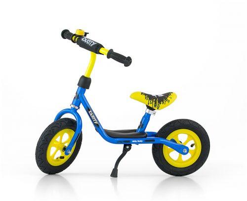 Rowerek biegowy Dusty Blue-Yellow MillyMally