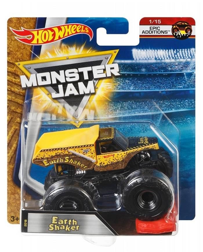 Samochodzik Monster Jam 10 cm, Hot Wheels