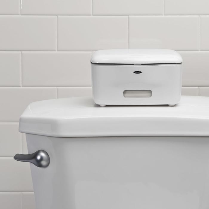 Oxo pojemnik na mokre chusteczki biały
