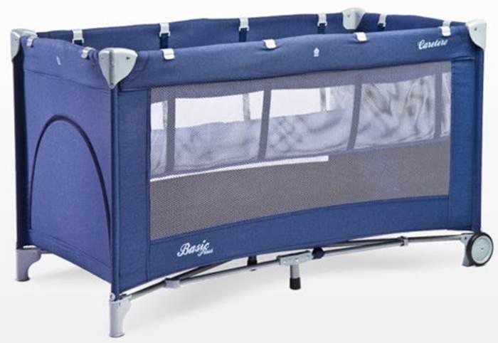 Łóżeczko turystyczne Basic Plus, Caretero